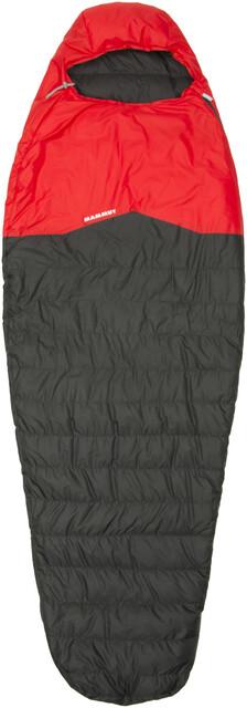 Mammut Nordic Down Spring Sleeping Bag 195cm graphite-fire (2019)